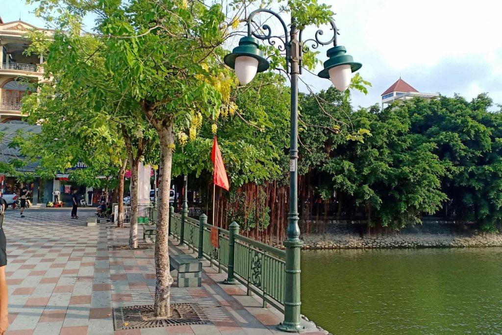 Tam Bac river railing project