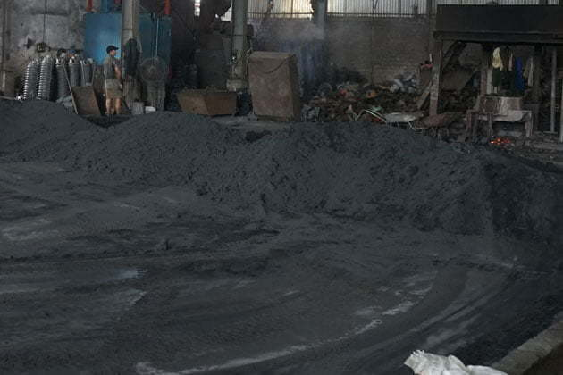 Green Sand used in metal casting