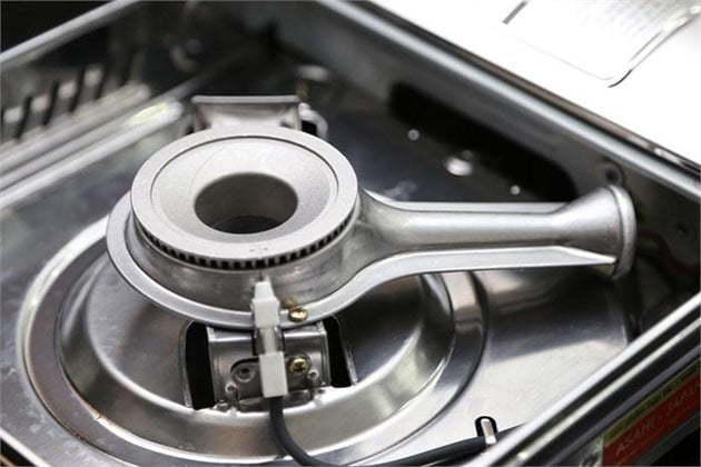 Aluminum gas burner