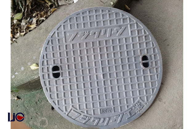 Cast iron manhole cover produced by Viet Nam Cast Iron
