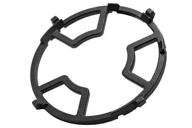 Circle-shape pan support