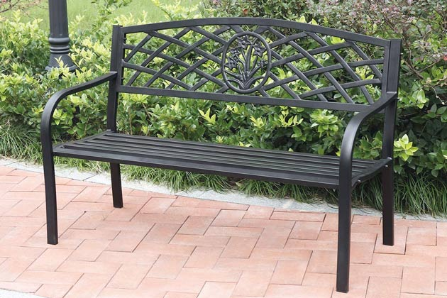 Full casting cast iron bench