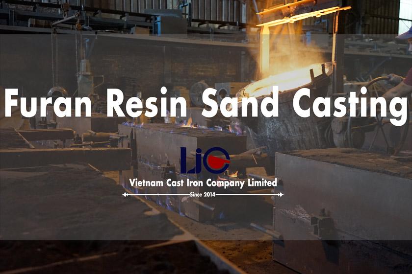Furan resin sand casting