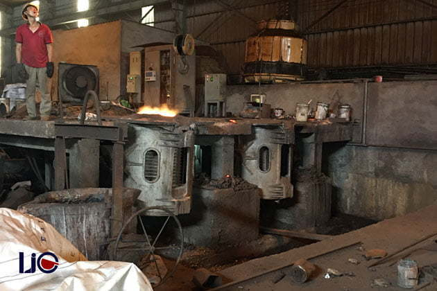 The factory of Viet Nam Cast Iron Company