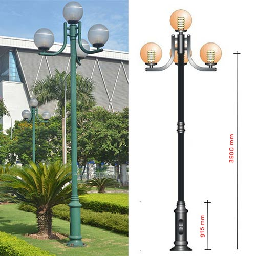 VIC LP04 lamp post