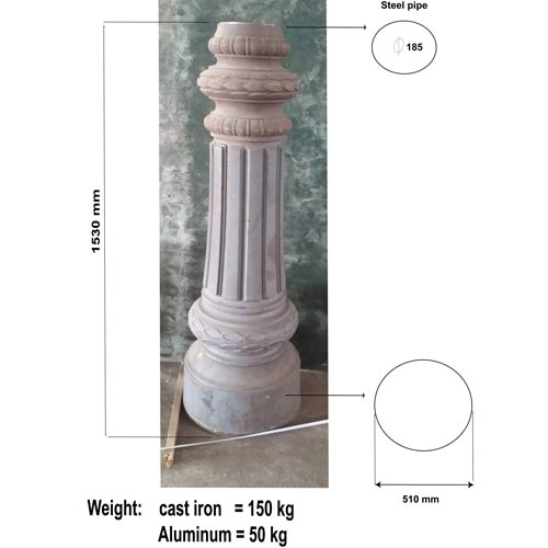 VIC LP06 lamp post base
