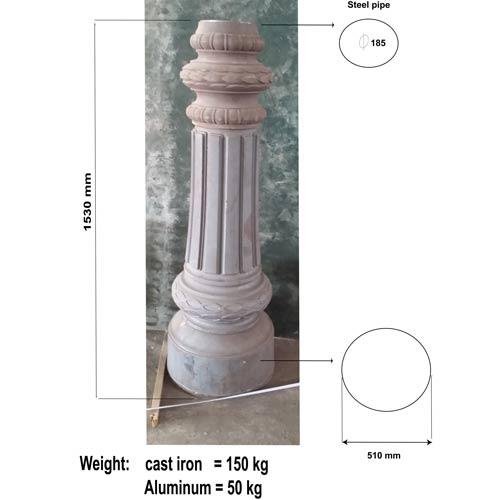 VIC LP06 lamp post base