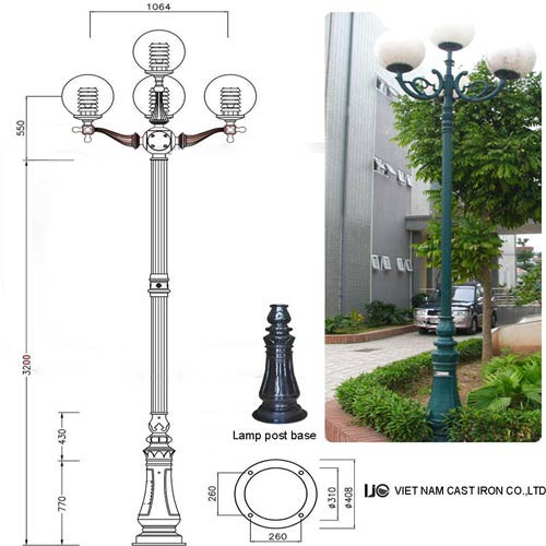 VIC LP11 lamp post