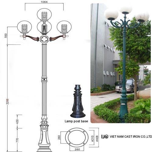 VIC LP11 lamp post