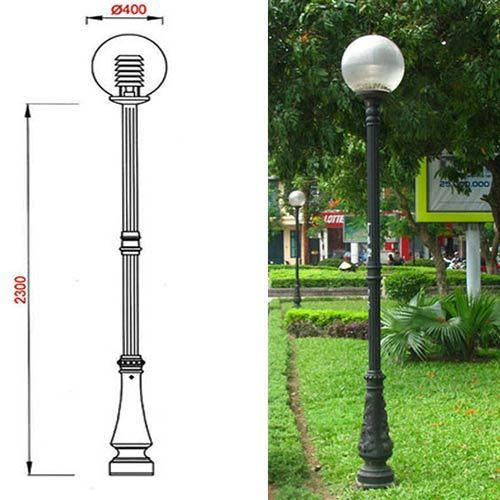 VIC LP12 lamp post