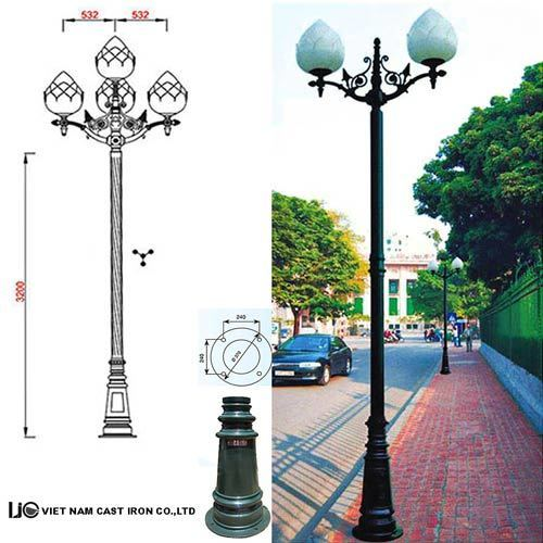 VIC LP20 lamp post