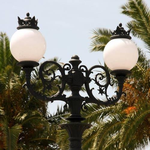 VIC LP21 lamp post head
