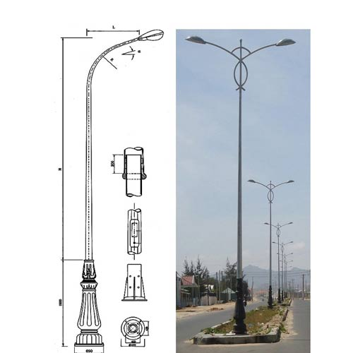 VIC LP23 lamp post