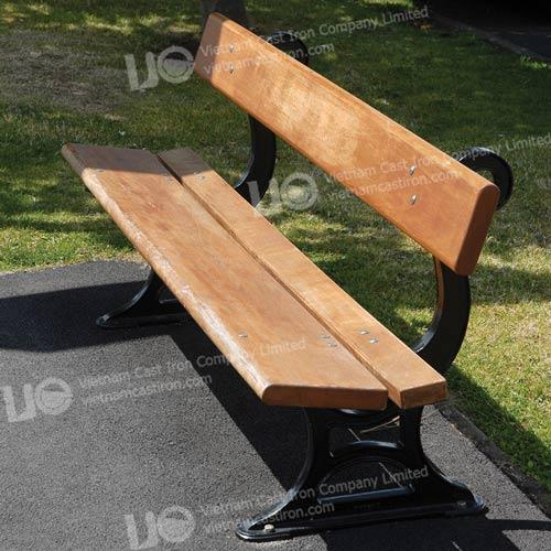 B07 Cast Iron Park Bench