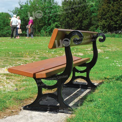 B07 Cast Iron Park Bench
