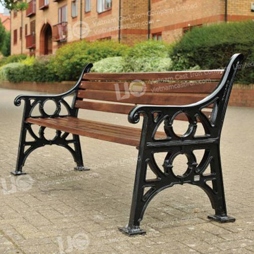 B08 Cast Iron Park Bench