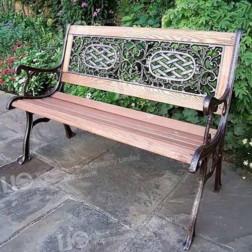 B12 Cast Iron Garden Bench