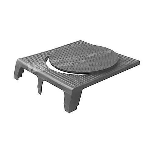 Cast iron kerb gully cover drainage 800x840 C250