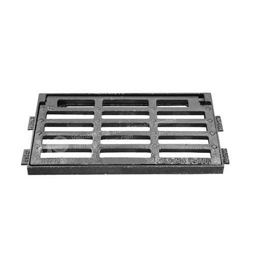 Cast iron drain gullly grating