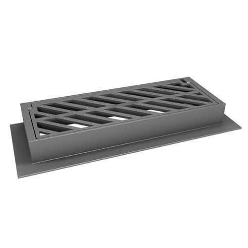 Cast iron drain gully cover C250