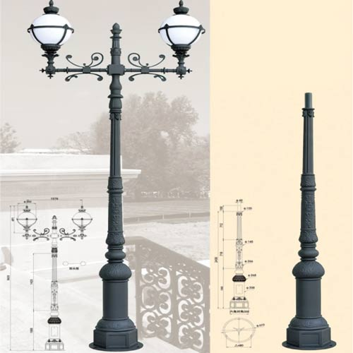 LP45 Lamp Post