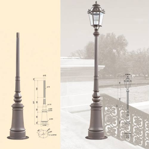 LP46 Lamp Post