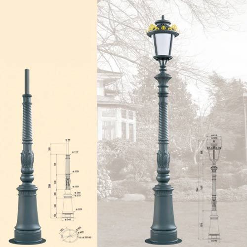 LP47 Lamp Post
