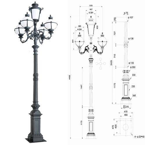 LP48 Lamp Post