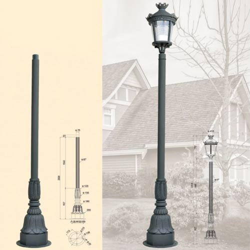 LP49 Lamp Post