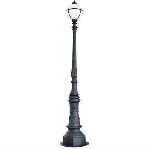Anti-corrosion Cast Aluminum Alloy Classic Decoration Outdoor Lamp Post