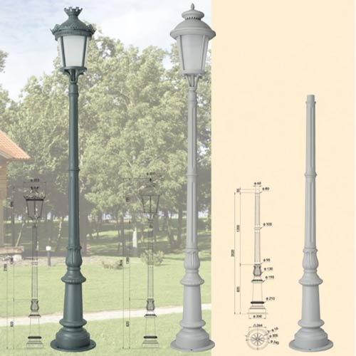 LP51 Lamp Post