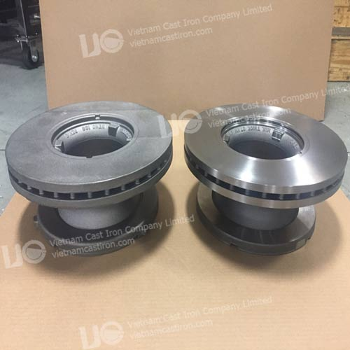 MA02 Cast Iron Machined Parts for the Trucking & Transportation Industries