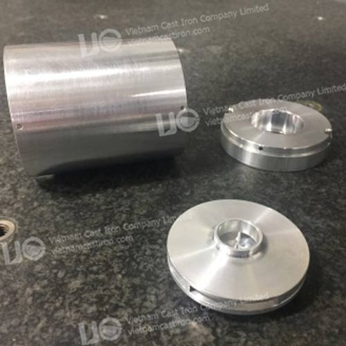 MA04 Aluminum Machined Parts for the Process Fluid Circulation Industry