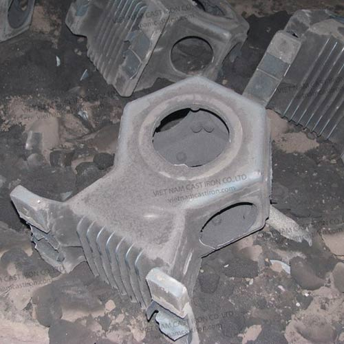 P04 Cast Iron Crankcase
