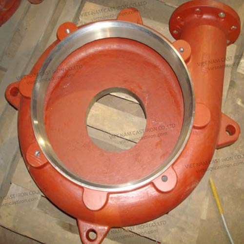 P05 High Chrome Cast Iron Casting Pump Casing