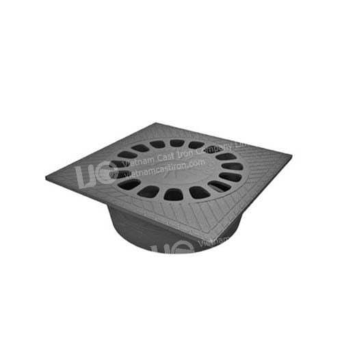 MC02 Square Cast iron Drain