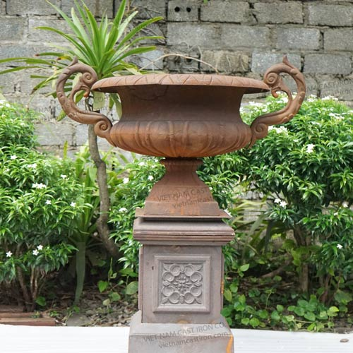UP03 Cast Iron Urn Planter
