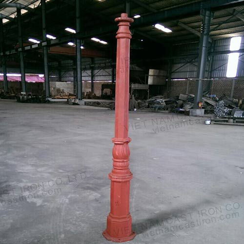 VIC LP30 lamp post pole