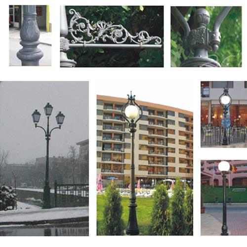 VIC LP33 lamp post
