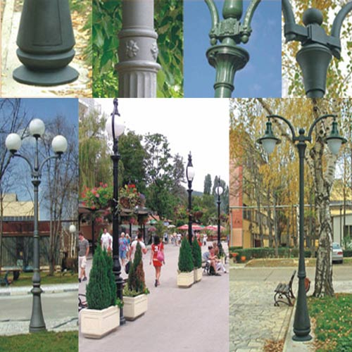 VIC LP33 lamp post
