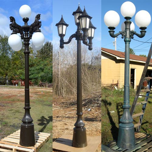 VIC LP40 lamp post