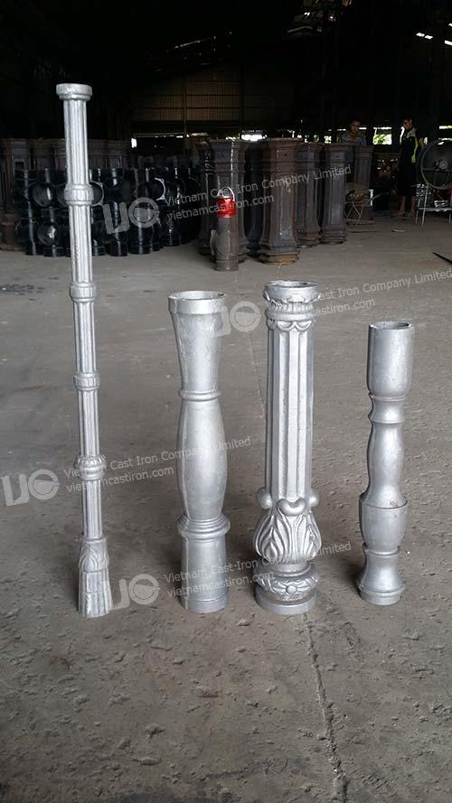 Aluminum Antique Table Leg post