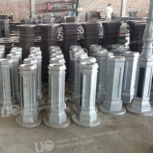 Aluminum Casting lamp post base