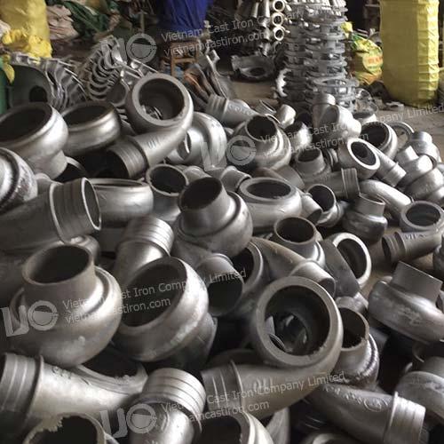 Aluminum pump parts products