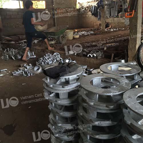 Cast Aluminum Pump Parts