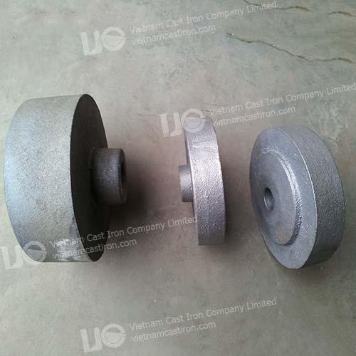 Cast iron belt wheel
