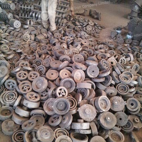 Cast iron pulley manufacturer