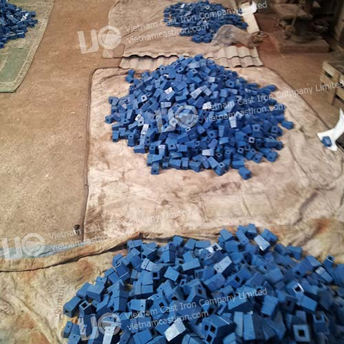 Cast iron valve spindles top