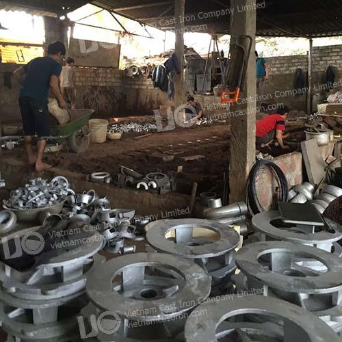 Customized Cast Aluminum Pump parts products