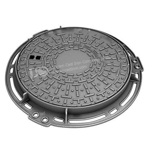 Ductile Iron Round Access manhole Cover 700mm B-125